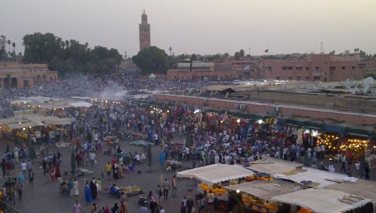Escursione da Marrakech: piazza