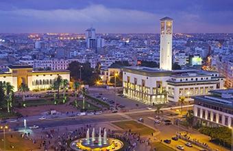 Casablanca di notte