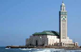Casablanca Hassan moschea