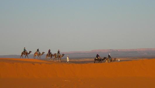 Escursione 2 giorni nel deserto del Marocco su cammello