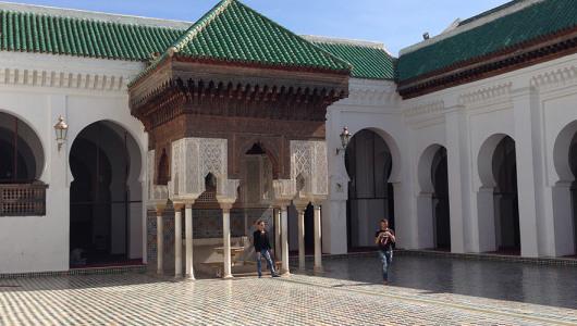 Fes città imperiale - Università al-Qarawiyyin