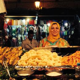 Foto mercato del Marocco