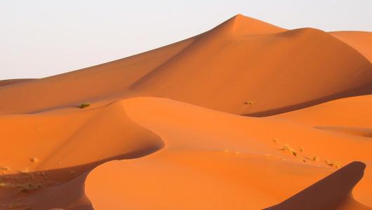 deserto del Sahara, dune dell'Erg Chebbi