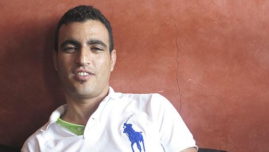 Moustapha, titolare di Tour Marocco