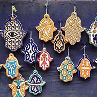 Mano di Fatima o Khamsa in arabo