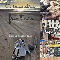 walking through the real Essaouira