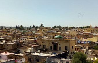 skyline città di fes