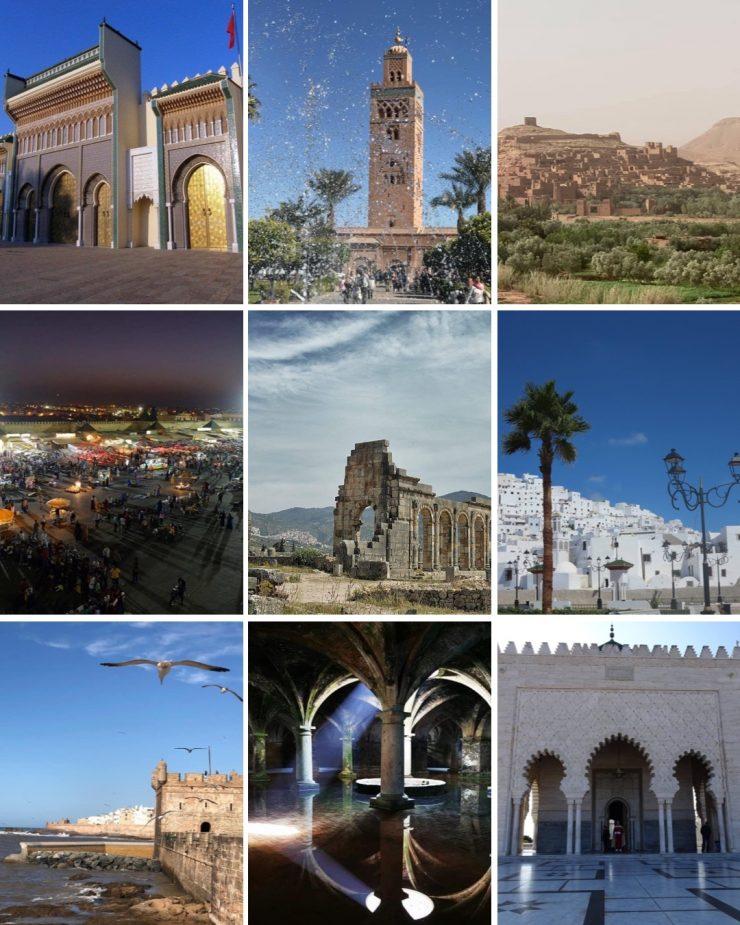 Patrimonio UNESCO in MAROCCO